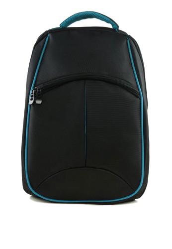 雙zalora 評價色結構筆電後背包, 包, 男包