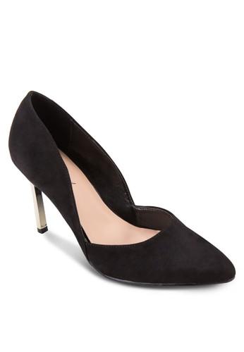 素色尖頭高跟鞋, zalora 台灣女鞋, 鞋