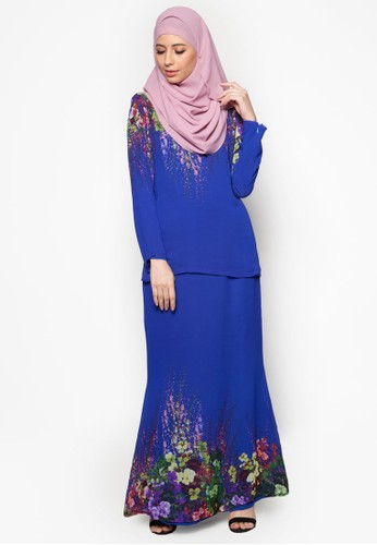 SpringIt Kurung Moden from Cod in Blue