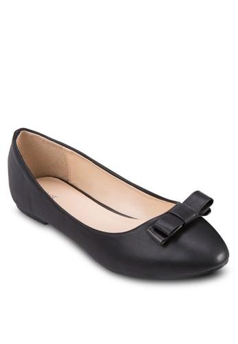 蝴蝶結基本款平底鞋, zalora退貨女鞋, 鞋