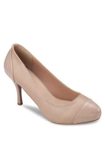 圓頭厚底高跟鞋zalora 心得, 女鞋, 厚底高跟鞋