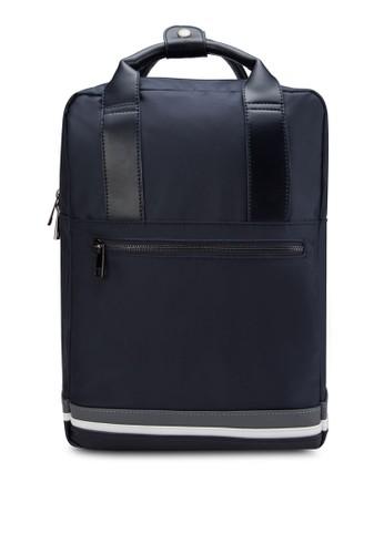 Striped Bazalora 內衣se Top-Handle Backpack, 包, 後揹包