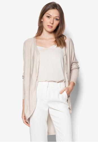 zalora鞋子評價蝙蝠袖開襟外套, 服飾, 毛衣& 針織外套
