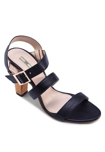zalora是哪裡的牌子多帶高跟涼鞋, 女鞋, 高跟