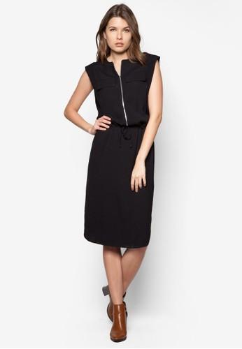 前拉鍊及膝zalora 鞋評價洋裝, 服飾, 正式洋裝