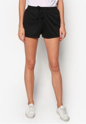 基本款束口運動短褲, 服飾,zalora 鞋評價 休閒短褲