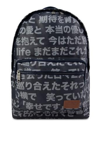 日本漢字後背包, 包, zalora 內衣後揹包