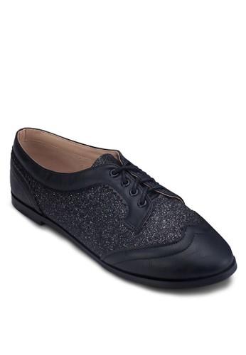 閃飾德比鞋,zalora 手錶 評價 女鞋, 鞋