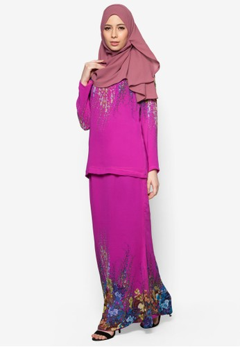 SpringIt Kurung Moden from Cod in Pink
