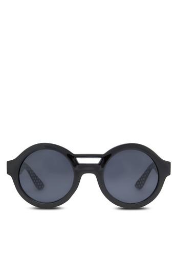 復古風圓框太陽眼鏡, zalora鞋子評價飾品配件, 圓框