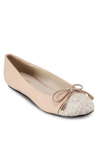 Kassazalora 台灣ndra 蝴蝶結平底鞋, 女鞋, 芭蕾平底鞋