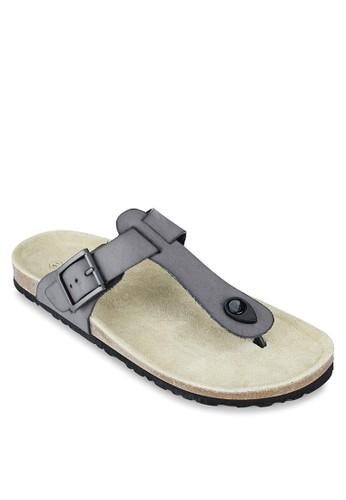 仿皮T 字帶設zalora 內衣計涼鞋, 鞋, 拖鞋