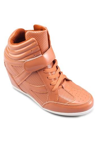 內增高楔形運動鞋, zalora 折扣碼女鞋, 休閒鞋