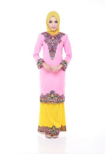 Agnes Pink from Maribeli Butik in Pink and Yellow