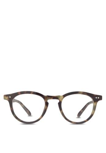 zalora 鞋評價Ms Hailey 圓框眼鏡, 飾品配件, 眼鏡