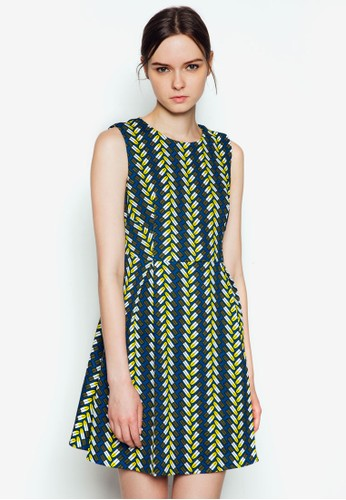 口紅印花洋裝,zalora時尚購物網評價 服飾, 洋裝