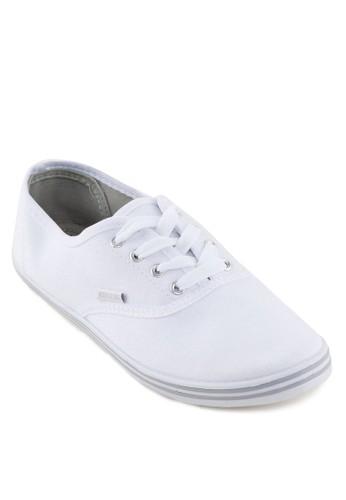 KIM Back To Sczalora退貨hool - 基本款繫帶帆布鞋, 鞋, 鞋
