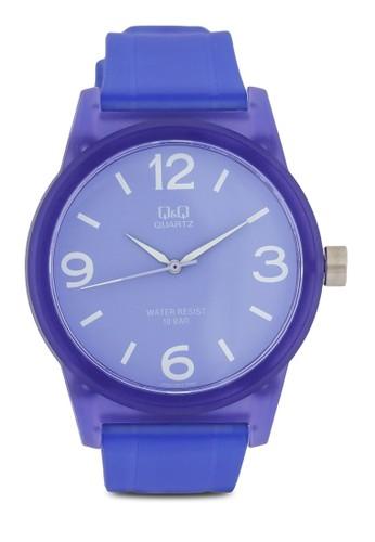 VR35J0zalora 鞋評價01Y 圓框彩色手錶, 錶類, 其它錶帶