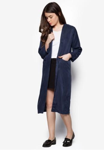 長半開襟睡袍, 服飾, 毛衣& 針織外zalora 包包評價套