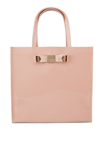 Katy 金飾果凍手提包,zalora 衣服尺寸 包, 飾品配件