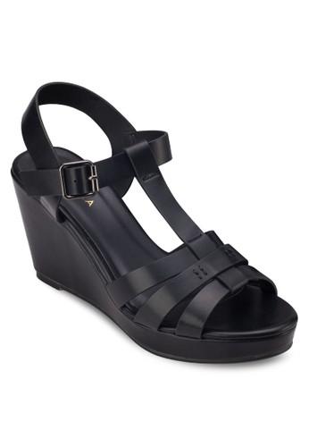 多帶楔型跟涼鞋, 女鞋, 楔形zalora taiwan 時尚購物網涼鞋