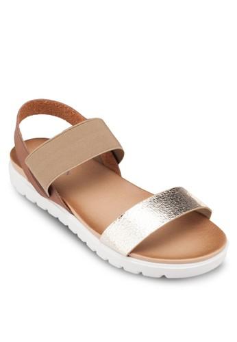 平底繞踝zalora 心得涼鞋, 女鞋, 涼鞋