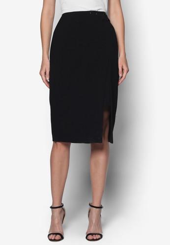 側開衩及膝短裙, 服飾zalora 心得, 及膝裙