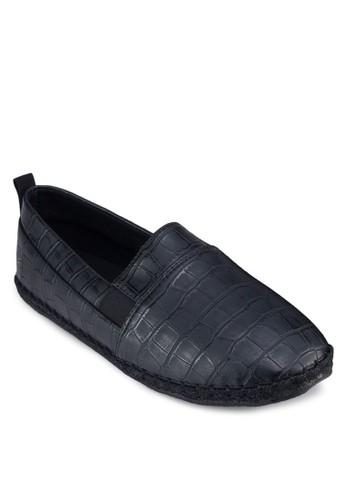 鱷魚紋仿皮麻跟鞋, 鞋, 懶zalora 鞋評價人鞋