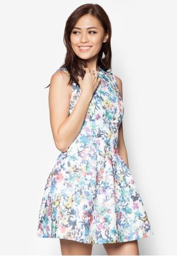 碎花洋裝zalora 鞋評價, 服飾, 洋裝