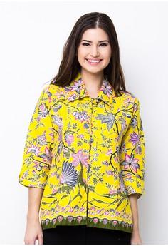 Kumpulan Model Baju Kerja Batik Wanita