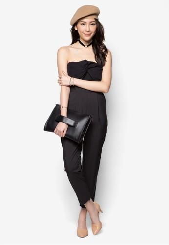 Strapless Jzalora鞋子評價umpsuit, 服飾, 迷你裙