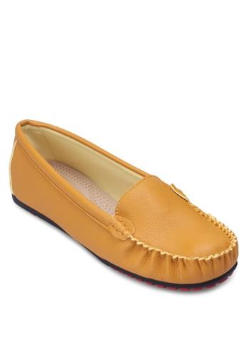 基本zalora鞋款仿皮樂福鞋, 女鞋, 鞋