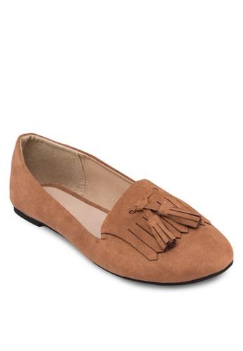 流蘇樂福鞋, 女鞋,zalora 泳衣 鞋