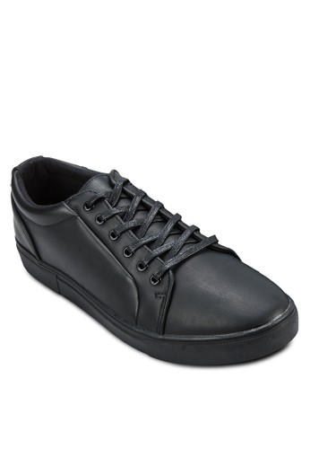 Faux Leather Sneaker, 鞋zalora開箱, 休閒鞋