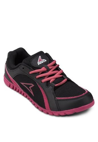 Attract A315 網眼仿皮運動鞋,zalora 內衣 女鞋, 訓練