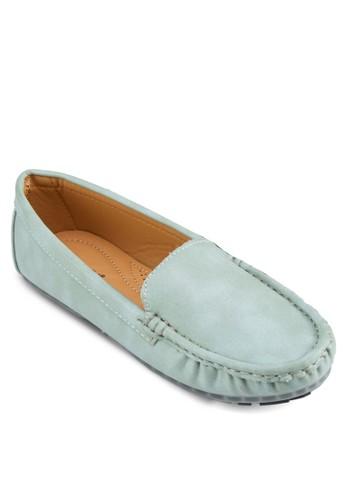 仿皮莫卡辛鞋,zalora taiwan 時尚購物網鞋子 女鞋, 船型鞋