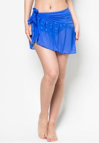 沙zalora 評價灘透膚短裙, 服飾, 度假系列