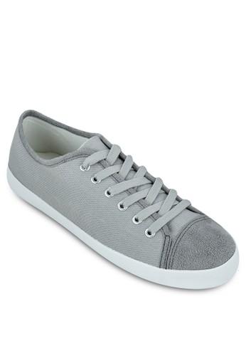 麂皮鞋頭zalora鞋帆布休閒鞋, 鞋, 休閒鞋