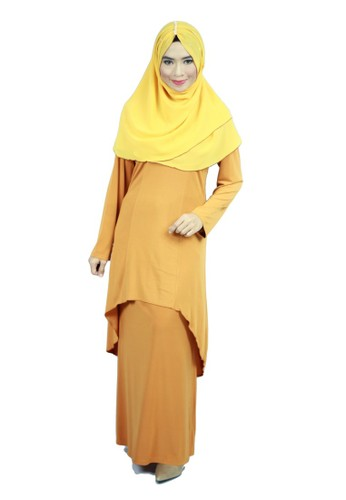 Aleyka Baju Kurung Golden from anisse in Gold