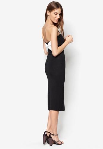 背部大蝴蝶zalora 鞋評價結小禮服, 服飾, 洋裝