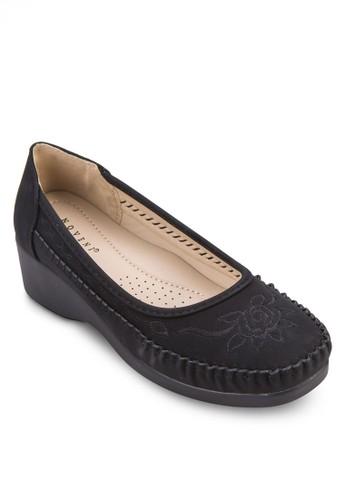 繡花厚底休閒鞋zalora 台灣, 女鞋, 鞋
